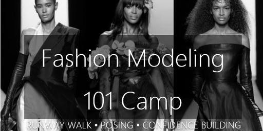 Fashion Modeling Skills Summer Camp
