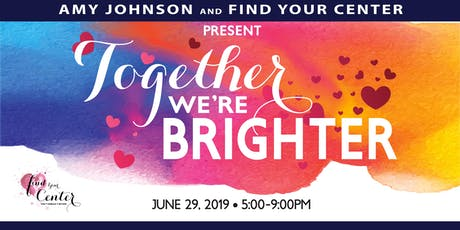 Together We're Brighter tickets