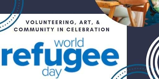 World Refugee Day of Service + Art