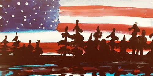 Stars, Stripes and Pines Paint and Sip