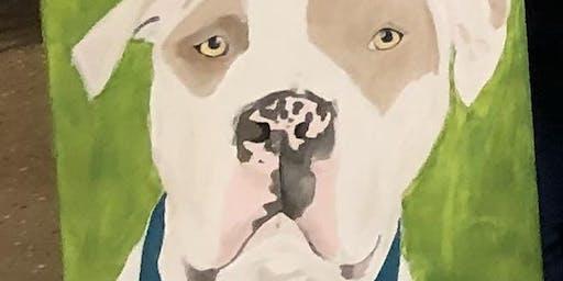 Paint Your Pet! Canvas Painting Class