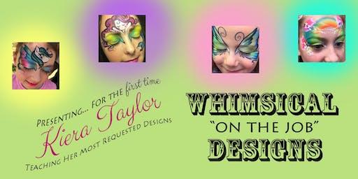 Intermediate Face Painting Workshop - Kiera Taylor