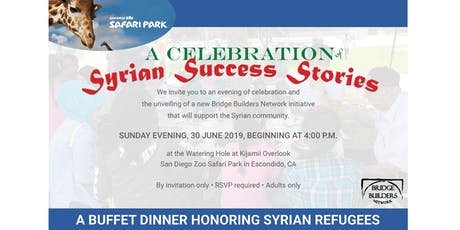 Bridge Builders Network Presents: Celebration of Syrian Success Stories tickets