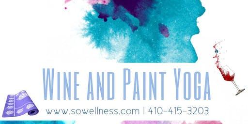 Wine N Paint Yoga: Design a yoga mat