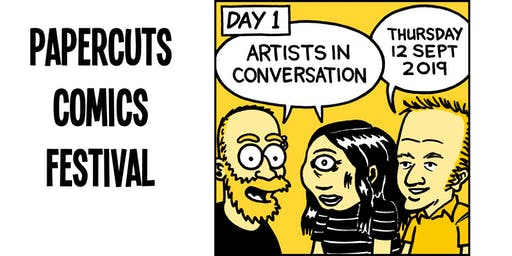 Artists in Conversation - Papercuts Comics Festival day 1