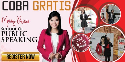 MERRY RIANA School of Public Speaking (For Teens & Kids)