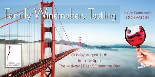 Family Winemakers San Francisco Tasting 2019