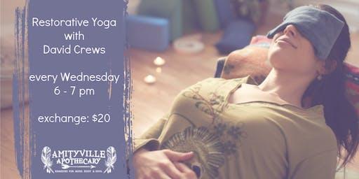 Restorative Yoga with David Crews
