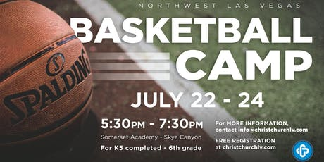Northwest Las Vegas Basketball Camp-July 22nd-24th tickets