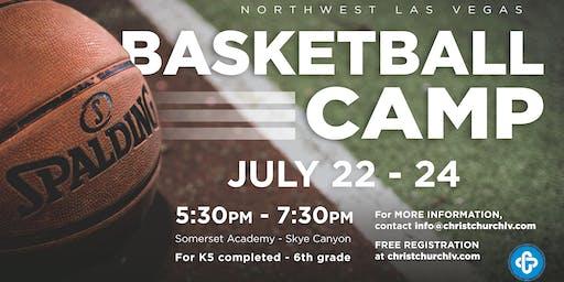 Northwest Las Vegas Basketball Camp-July 22nd-24th