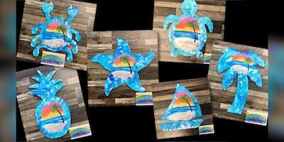 Island Cut Out: Essex, Crazy Tuna with Artist Katie Detrich!