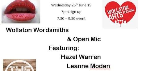 Poetry Aloud presents: Wollaton Wordsmiths tickets