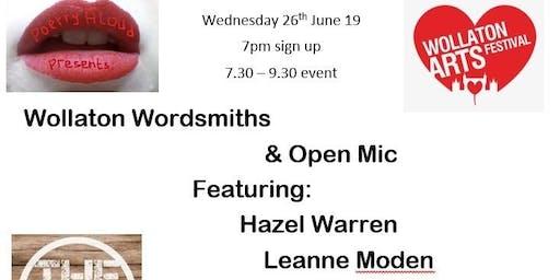 Poetry Aloud presents: Wollaton Wordsmiths