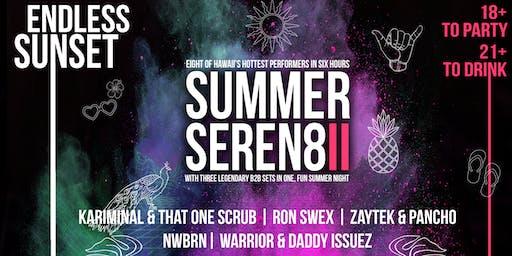 """Summer Seren8: """"Endless Sunset"""""""