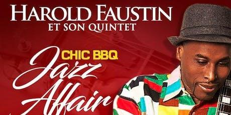 Harold Faustin dans  Chic Jazz Affair (Rouge-Blanc) billets