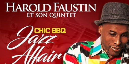 Harold Faustin dans  Chic Jazz Affair (Rouge-Blanc)