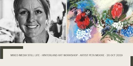 Still Life - Mixed Media  - Peta Moore - Hinterland Art Workshop