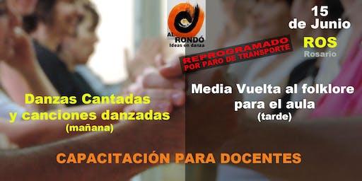 1)-DANZAS CANTADAS Y CANCIONES DANZADAS  2)- MEDIA