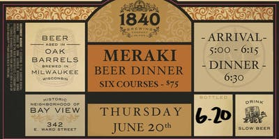 1840 Brewing Beer Dinner