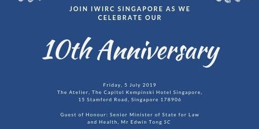 IWIRC Singapore's 10th Anniversary Black Tie Dinner