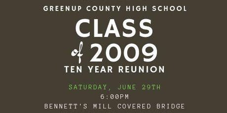 Greenup County High School Class of 2009 10 Year Reunion tickets