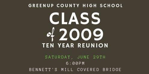 Greenup County High School Class of 2009 10 Year Reunion