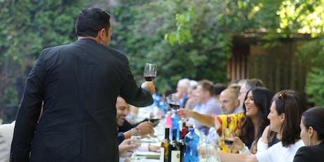 "Massimo Bruno's ""Al Fresco"" Outdoor Supper Club tickets"