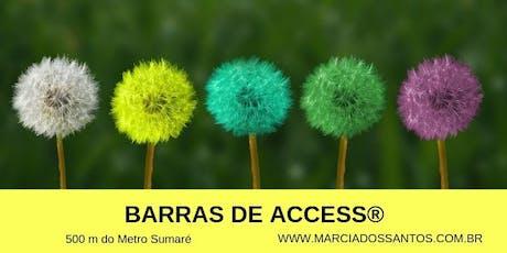 Curso de Barras de Access® 29/06, com Marcia dos Santos ingressos