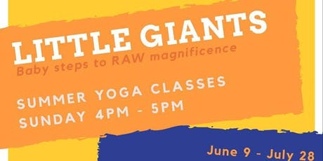 Little Giants - 6 week series by TarunaYoga tickets