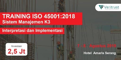 TRAINING ISO 45001:2018 - Interpretasi dan Implementasi (Paid Event)