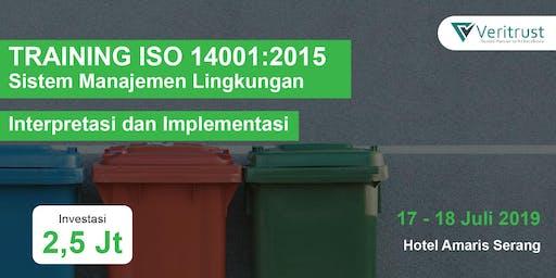 TRAINING ISO 14001:2015 - Interpretasi dan Implementasi (Paid Event)