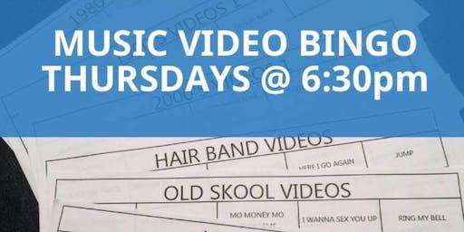 Music Video Bingo at Celebrations