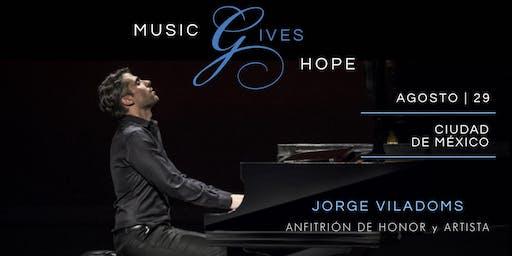 Music Gives Hope ft. Jorge Viladoms