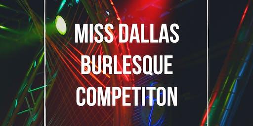Miss Dallas Burlesque Competition