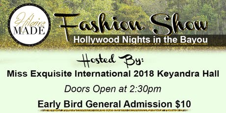 HilaireMADE Fashion Show: Hollywood In The Bayou tickets