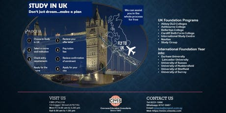 STUDY IN UK tickets