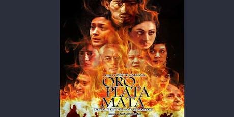 Free Film Screening - Oro, Plata, Mata - In celebration of Filipino Heritage Month tickets