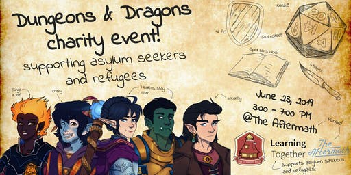 Dungeons & Dragons for Charity: Defeating Displacement