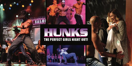 HUNKS The Show at Celsius Nightclub (Fort Myers, FL)