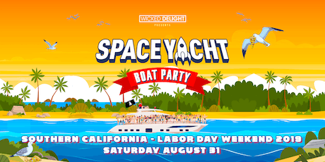 Space Yacht Boat Party Labor Day Weekend 2019 tickets