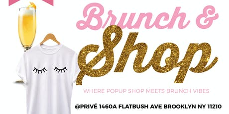 Brunch and Shop  tickets