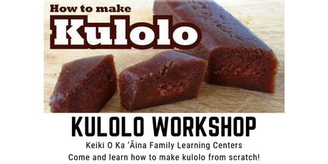 Kulolo Workshop tickets