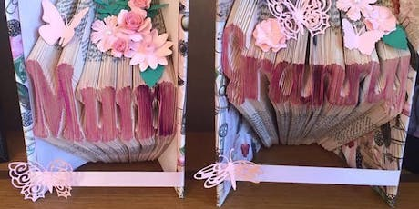 Book folding workshop Glendiock tickets