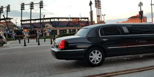 Tigers Baseball Game Day Limo Transportation