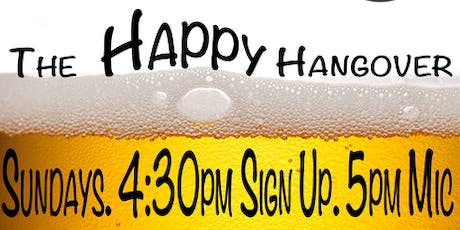 Happy Hangover Open Mic  tickets