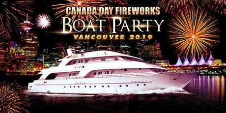 Canada Day Fireworks Boat Party Vancouver 2019 tickets