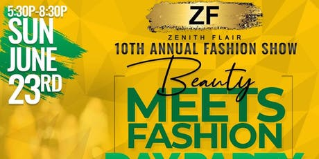 BEAUTY MEETS FASHION DAY PARTY EDITION tickets