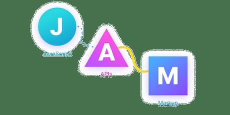Creazione siti statici con JAMstack biglietti