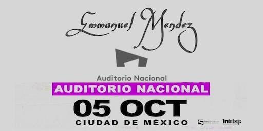 Emmanuel Mendez En el Auditorio Nacional
