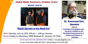 "Houston 2019 - ""Hindu Agenda in the Modi Era"" - Dr...."